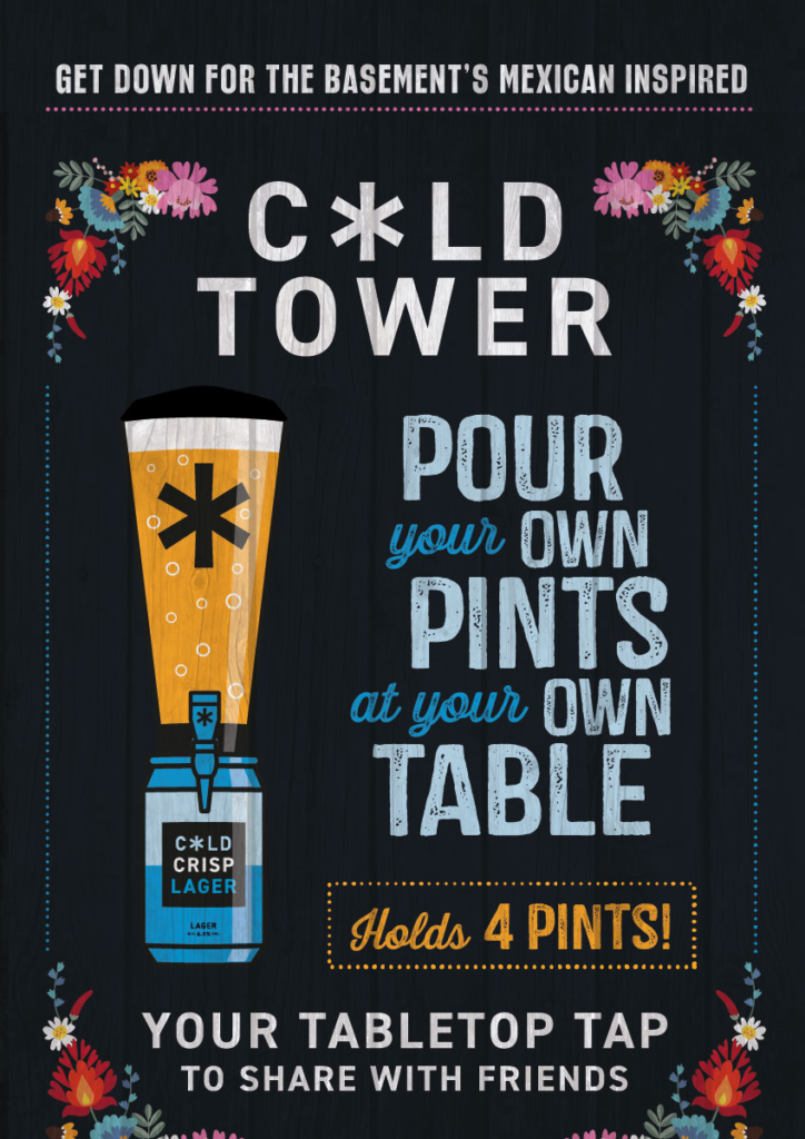 Cold Town Beer Towers at The Basement