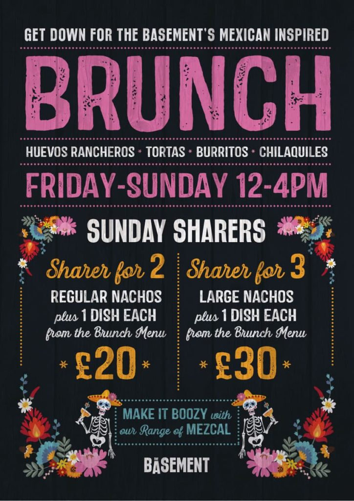 The Basement's Mexican Sunday Brunch